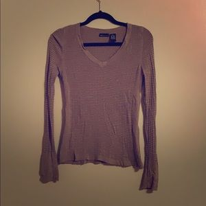 Ribbed Long Sleeve Tee